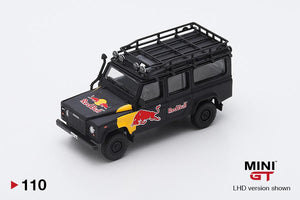 1/64 MINI GT Land Rover Defender 110 Red Bull LUKA  (LHD)