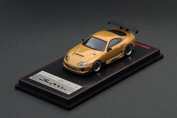 IGNITION MODEL 1/64 TOYOTA SUPRA GOLD JZA80