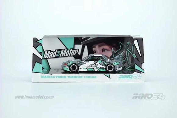 INNO 64 NISSAN GTR R32 PANDEM - MADMOTOR ECHO GAO ( EXCLUSIVE )
