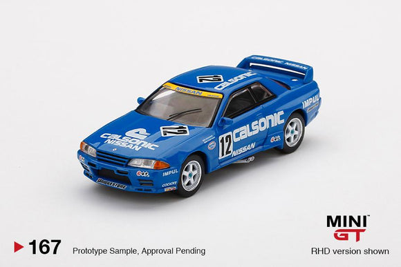 * PRE ORDER * MINI GT #167 1/64 Nissan Skyline GT-R R32 Gr. A #12  Calsonic 1992 Japan Touringcar Championship