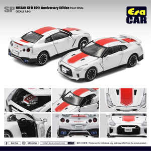 ERA CAR #SP NISSAN GT-R R35 50TH ANNIVERSARY PEARL WHITE  - PRE ORDER