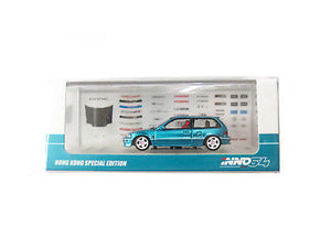 "INNO 64  1/64 Honda Civic EF9 SiR 1990 Metallic Green ""Hong Kong Exclusive"""