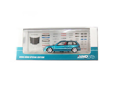 INNO 64  1/64 Honda Civic EF9 SiR 1990 Metallic Green