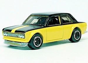 HOT WHEELS '71 DATSUN BLUEBIRD 510 EXCLUSIVE