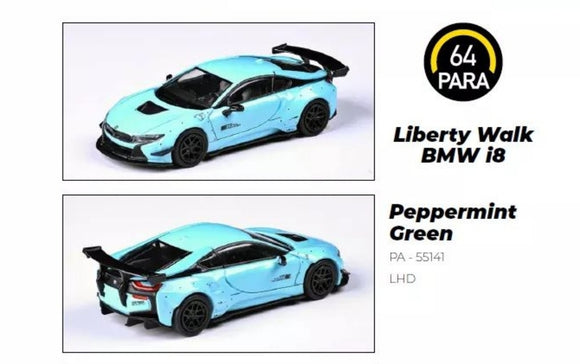 PARA 64 BMW I8 LBWK PEPPERMINT GREEN