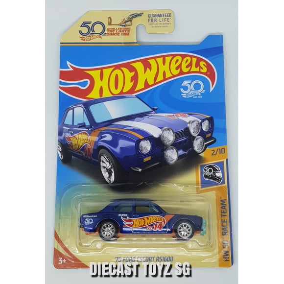 Hotwheels '70 Ford Escort RS1600 SUPER US CARD (Chase Piece)