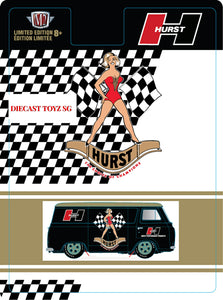 * PRE ORDER * M2 Machines 1:64 Hobby Exclusive Ford Econoline HURTS Edition Limited Edition