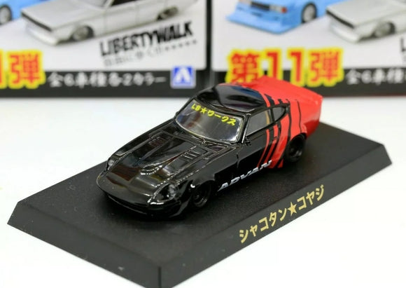 Aoshima 1/64 Grachan 11 LBWK Liberty Walk Nissan Fairlady Z30 Advan