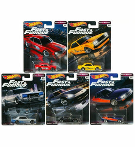 Hot Wheels 1:64 Fast n Furious Fast Rewind Set Premium series