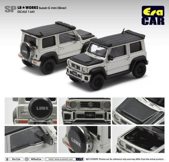 ERA CAR # SP04 LB Works LB G Mini Jimny (Silver)