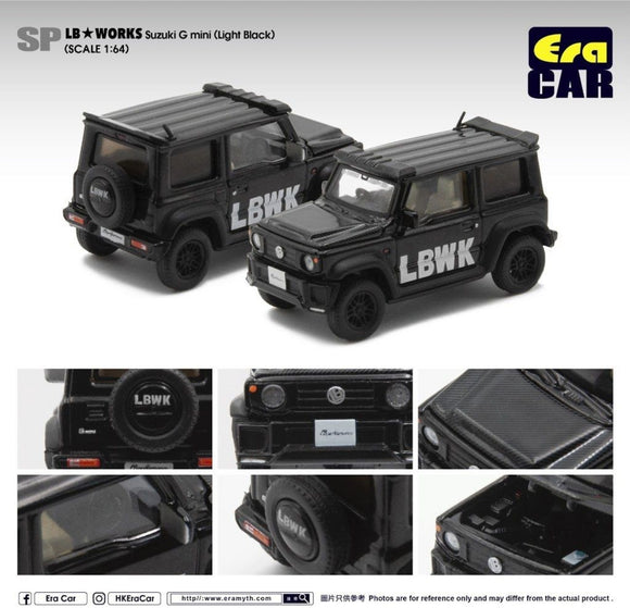 ERA CAR # SP06 LB Works LB G Mini Jimny (Light Black)