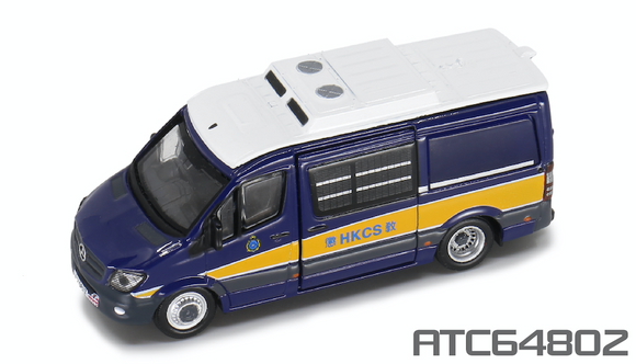 * PRE ORDER * Tiny City 51 Die-cast Model Car - 1:76 MERCEDES-BENZ Sprinter FL HKCS