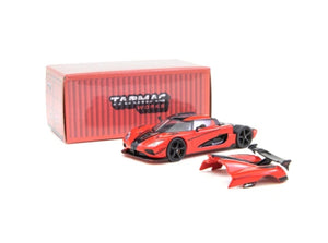 Tarmac Works 1/64 Koenigsegg Agera RS Red / Carbon Accent - GLOBAL64