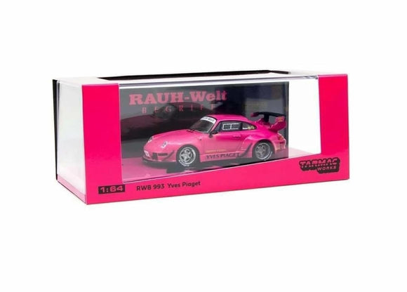 TARMAC WORKS 1:64 RWB 993 YVES PIAGET - SILVER WHEELS VARIANT * CHINA EXCLUSIVE *