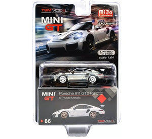 MINI GT#86 CHASE MIJO EXCLUSIVES PORSCHE 911 GT2 RS WEISSACH PACKAGE