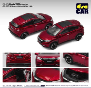 ERA CAR #29 HONDA VEZEL CRYSTAL RED (1ST SPECIAL EDITION)