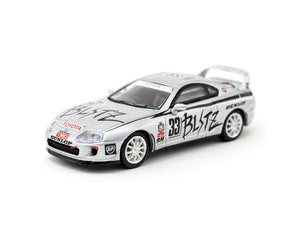 Tarmac Works 1/64 Toyota Supra Team Blitz Group N #33