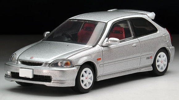 Tomica Limited Vintage NEO - LV-N158b Honda Civic Type-R '97 (Silver)