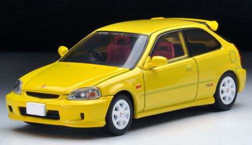 Tomica Limited Vintage NEO LV-N165a Civic Type R '99 (Yellow)