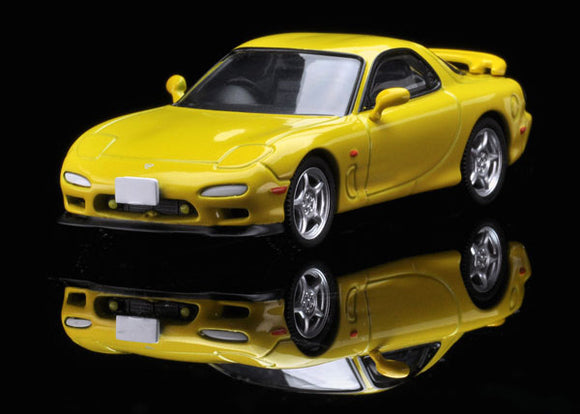 Tomica Limited Vintage NEO TLV-N174b mazda Enfini RX-7 Type R (Yellow)