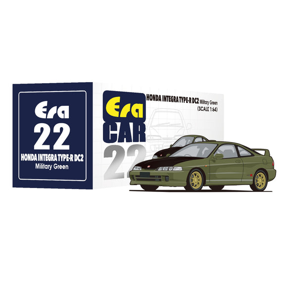 ERA CAR #22 Honda Integra Type R DC2 (military green) * PRE ORDER *