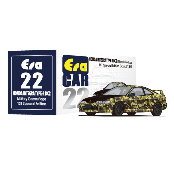 ERA CAR #22 Honda Integra Type R DC2 1st Special Edition (military camo) * PRE ORDER *