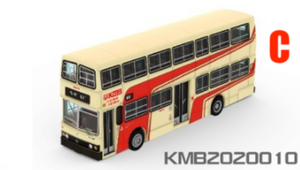 * PRE ORDER * Tiny City 148 Die-cast Model Car - KMB MERCEDES-BENZ O305 (68 Yuen Long)