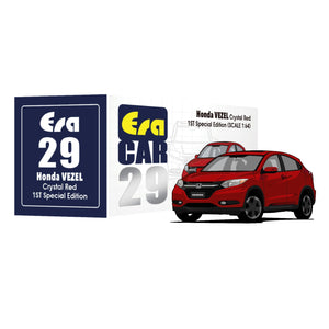 ERA CAR #29 HONDA VEZEL CRYSTAL RED (1ST SPECIAL EDITION) * PRE ORDER *