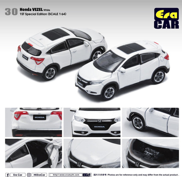 ERA CAR #30 HONDA VEZEL WHITE (1ST SPECIAL EDITION)