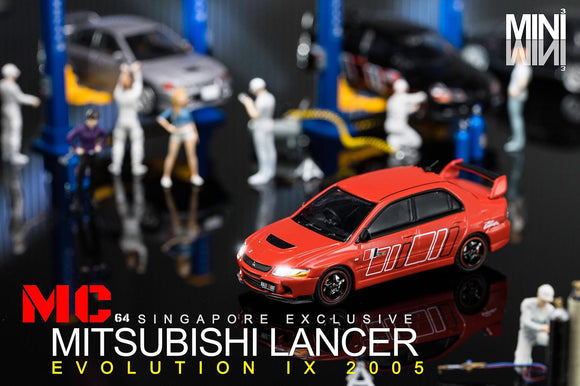 MC64 2005 Mitsubishi Lancer Evolution IX - RALLIART RED ⭐ SINGAPORE EXCLUSIVE ⭐