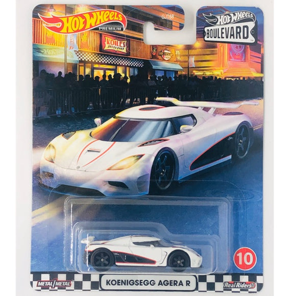 HOT WHEELS KOENIGSEGG AGERA R - BOULEVARD SERIES
