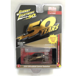 Johnny Lightning 1:64 50th Anniversary - 2004 Mitsubishi Lancer Evolution