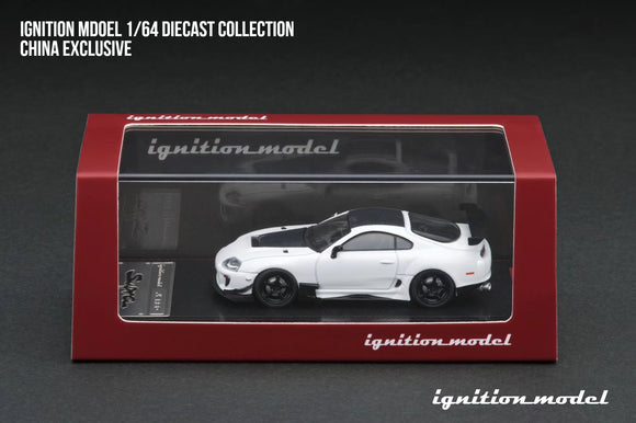 IGNITION MODEL 1/64 TOYOTA SUPRA WHITE - CHINA EXCLUSIVE