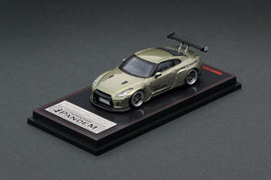 IGNITION MODEL 1/64 PANDEM R35 GT-R Green Metallic  IG 1748 🇯🇵 JAPAN EXCLUSIVE COLOUR 🇯🇵
