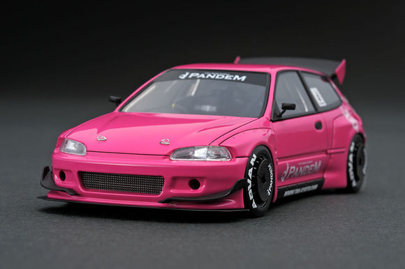 Ignition Model 1:43 Pandem Honda Civic EG6 Pink IG1174