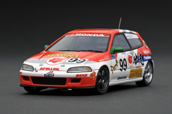 IGNITION MODEL IG1883 1/43 Idemitsu MOTION Mugen CIVIC (# 99) 1994 Macau Cup Race