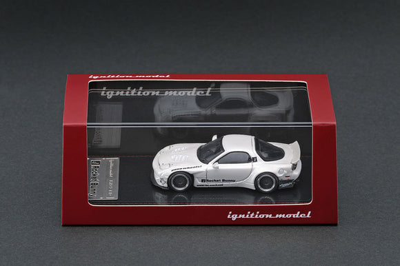 Ignition Model 1/64 Rocket Bunny RX-7 (FD3S) White IG 1411