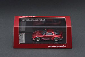Ignition Model 1/64 Rocket Bunny RX-7 (FD3S) Red Metallic IG 1407