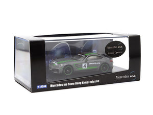 Tarmac Works 1/64 Mercedes-AMG GT4 - Mercedes Me Store - Hong Kong Exclusive