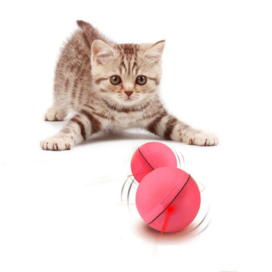 Interactive Automatic Rotating Ball Cat Toy