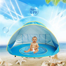 Load image into Gallery viewer, Portable Baby Pool With Protective Tent