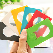 Load image into Gallery viewer, Mini Wallet Pocket Credit Card Size Portable LED Light