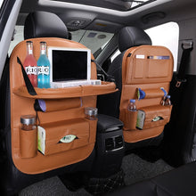 Load image into Gallery viewer, Leather Car Back Seat Organizer