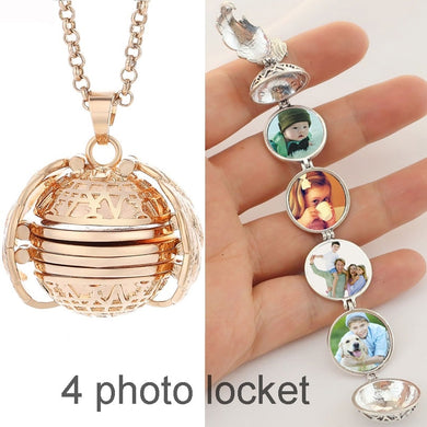 Magic Photo Pendant  Necklaces