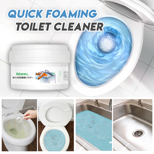 Quick Foaming Toilet Cleaner