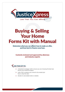 Buying & Selling Your Home: Forms Kit with Manual