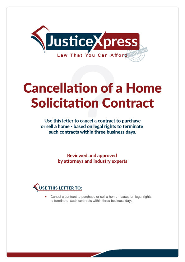 Cancellation of a Home Listing Agreement