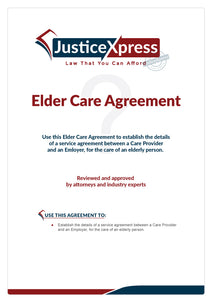 Elder Care Agreement
