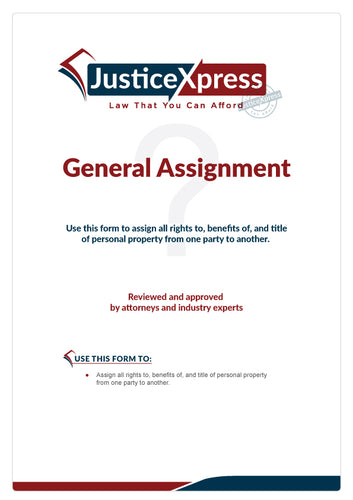 General Assignment Form