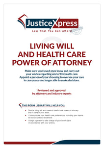 Living Will and Health Care of Power of Attorney